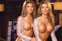 Sarah and Rachel Campbell playboy