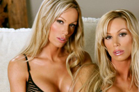Nathalie and Stephanie playboy