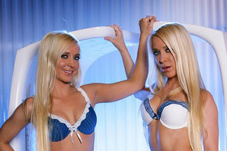 Erica and Rachelle Drummond playboy