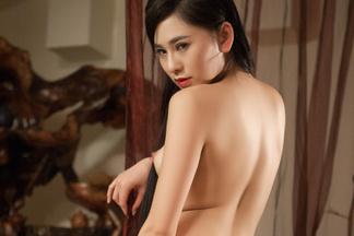 Wu Muxi in Hard Wood - Amateurs Nudes   PlayboyPlus