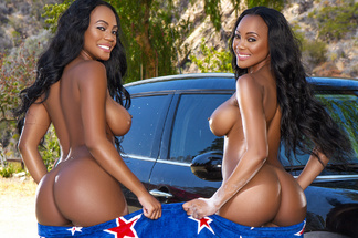 Brittany and Brandi Kelly playboy