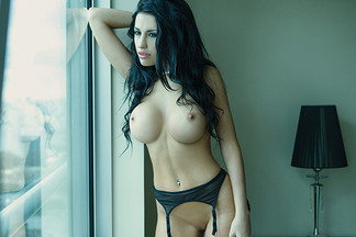 Laura Cattay in Playboy Argentina