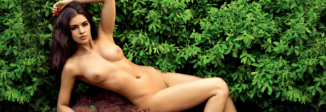 Anita Sikorska in Playboy Poland
