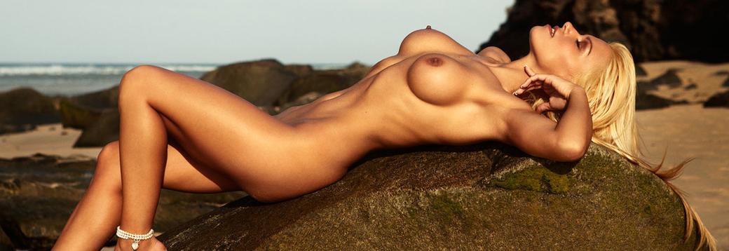 Vera Dimova in Playboy Netherlands