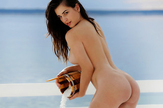 Ena Friedrich in Playboy Croatia