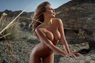 Alina Ilyina in Playboy Ukraine